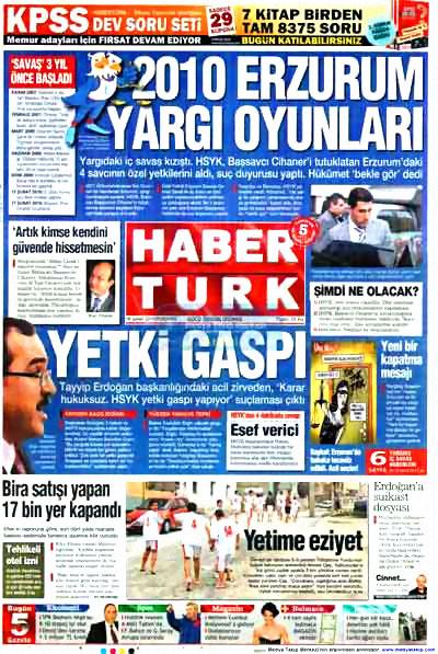 Yargı darbesi gazete manşetlerinde! galerisi resim 8