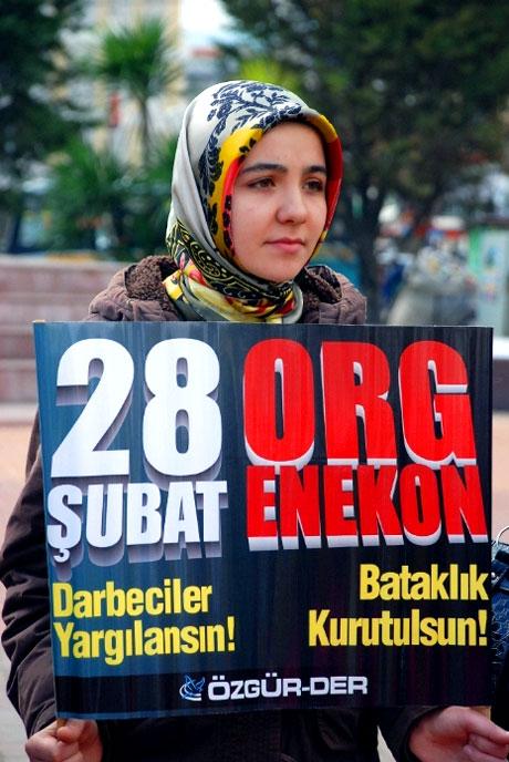 Meydanlarda 28 Şubat protestosu galerisi resim 15