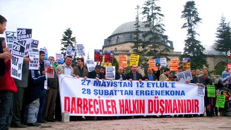 Meydanlarda 28 Şubat protestosu galerisi resim 16