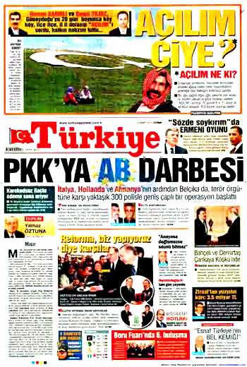 Kürtçe başlık atan milliyetçi gazete! galerisi resim 1
