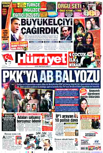 Kürtçe başlık atan milliyetçi gazete! galerisi resim 2
