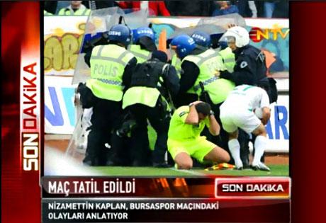 Diyarbakır Bursa maçında olaylar çıktı! galerisi resim 18