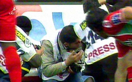 Diyarbakır Bursa maçında olaylar çıktı! galerisi resim 43