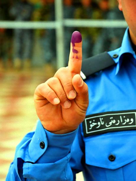 Irak'ta tarihi seçimler yapıldı! galerisi resim 12