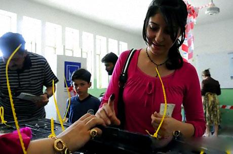 Irak'ta tarihi seçimler yapıldı! galerisi resim 13