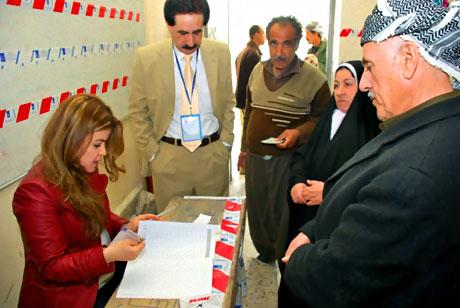 Irak'ta tarihi seçimler yapıldı! galerisi resim 15