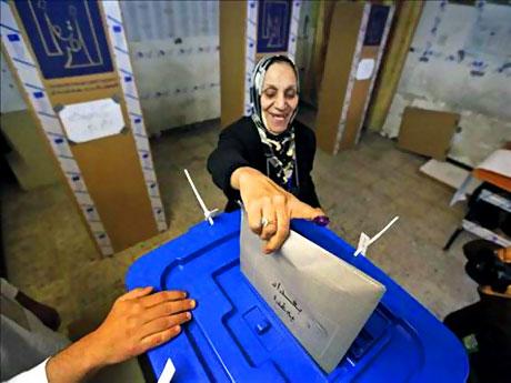 Irak'ta tarihi seçimler yapıldı! galerisi resim 16