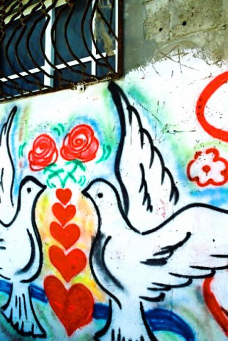 Gazze duvarları rengarenk! galerisi resim 16