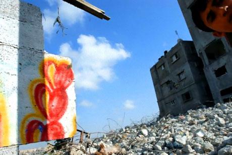 Gazze duvarları rengarenk! galerisi resim 5