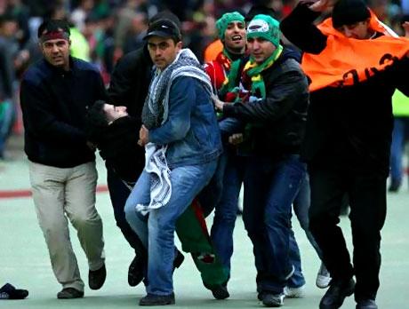 Diyarbakırspor - İBB maçında olaylar çıktı galerisi resim 14