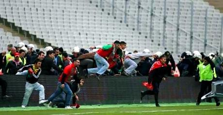 Diyarbakırspor - İBB maçında olaylar çıktı galerisi resim 3