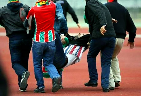 Diyarbakırspor - İBB maçında olaylar çıktı galerisi resim 9