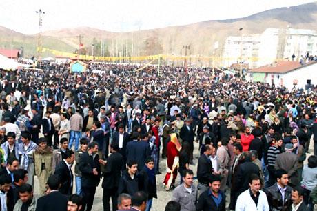 Yüksekova'da görkemli Newroz galerisi resim 11