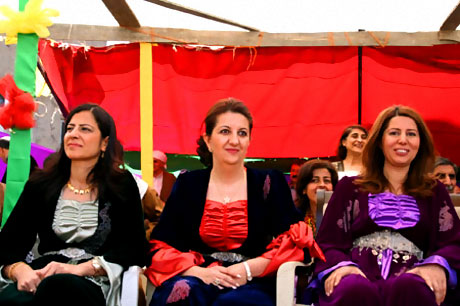 Yüksekova'da görkemli Newroz galerisi resim 18