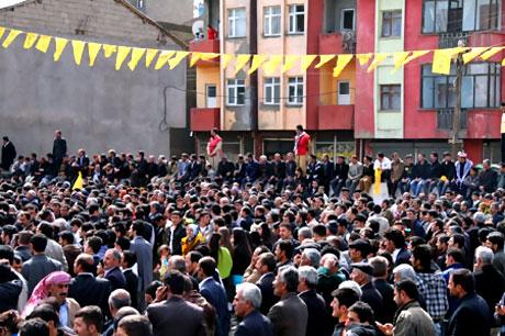 Yüksekova'da görkemli Newroz galerisi resim 24