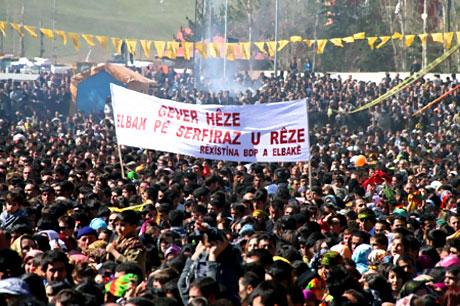 Yüksekova'da görkemli Newroz galerisi resim 28
