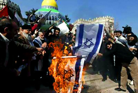 Onbinler İstanbul'da İsrail'i protesto etti! galerisi resim 12