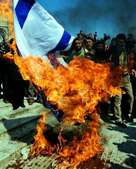 Onbinler İstanbul'da İsrail'i protesto etti! galerisi resim 17