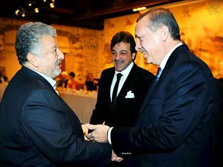 Erdoğan sanatçılarla açılımı konuştu galerisi resim 1