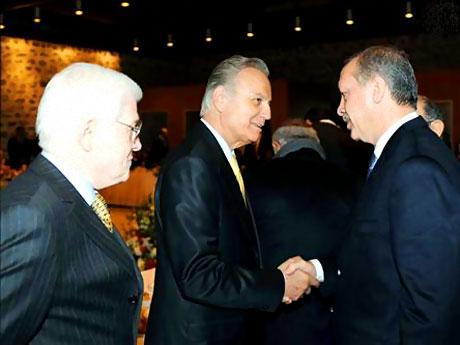 Erdoğan sanatçılarla açılımı konuştu galerisi resim 14