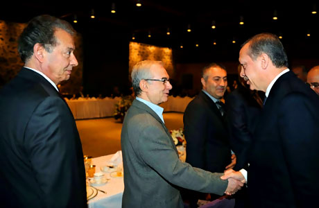 Erdoğan sanatçılarla açılımı konuştu galerisi resim 18