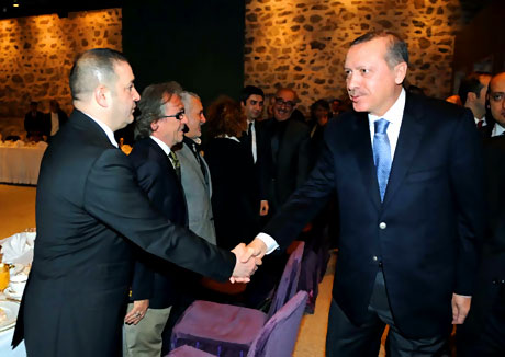 Erdoğan sanatçılarla açılımı konuştu galerisi resim 19