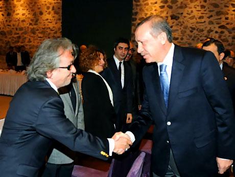 Erdoğan sanatçılarla açılımı konuştu galerisi resim 21