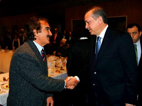Erdoğan sanatçılarla açılımı konuştu galerisi resim 23