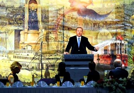 Erdoğan sanatçılarla açılımı konuştu galerisi resim 32