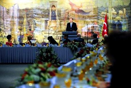 Erdoğan sanatçılarla açılımı konuştu galerisi resim 35