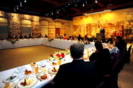 Erdoğan sanatçılarla açılımı konuştu galerisi resim 38