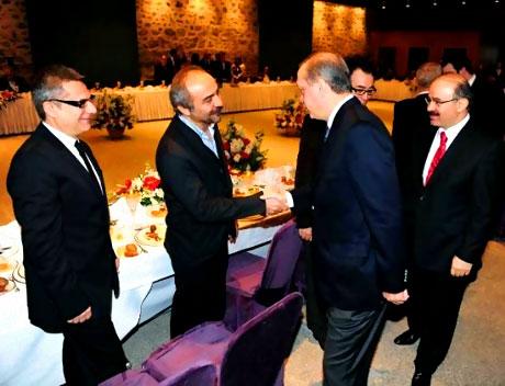 Erdoğan sanatçılarla açılımı konuştu galerisi resim 39