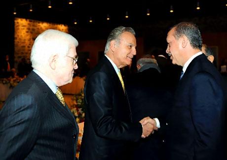 Erdoğan sanatçılarla açılımı konuştu galerisi resim 9