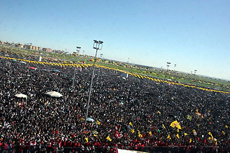 Diyarbakır'da Newroz ateşi yakıldı galerisi resim 24