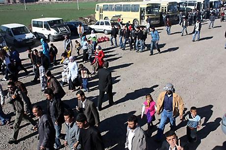 Diyarbakır'da Newroz ateşi yakıldı galerisi resim 33