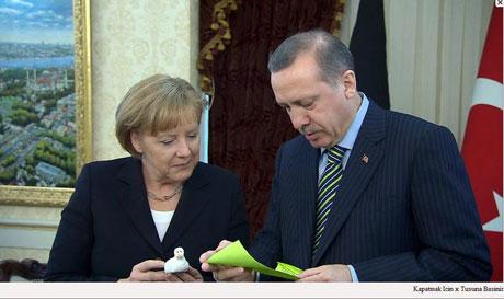 Angela Merkel'in Türkiye ziyareti galerisi resim 1