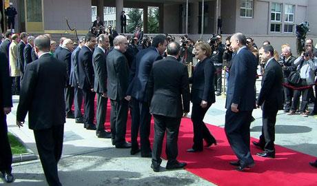 Angela Merkel'in Türkiye ziyareti galerisi resim 10