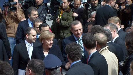 Angela Merkel'in Türkiye ziyareti galerisi resim 11