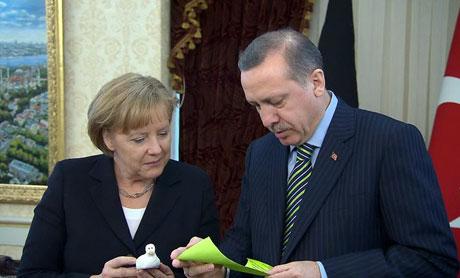 Angela Merkel'in Türkiye ziyareti galerisi resim 14