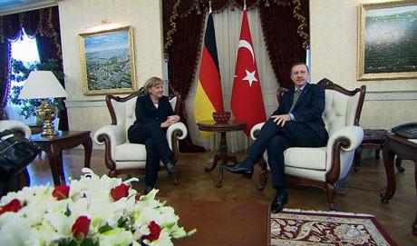 Angela Merkel'in Türkiye ziyareti galerisi resim 15