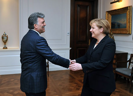 Angela Merkel'in Türkiye ziyareti galerisi resim 16