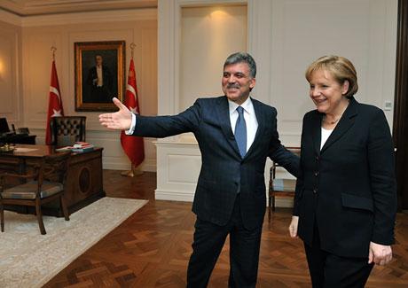 Angela Merkel'in Türkiye ziyareti galerisi resim 18