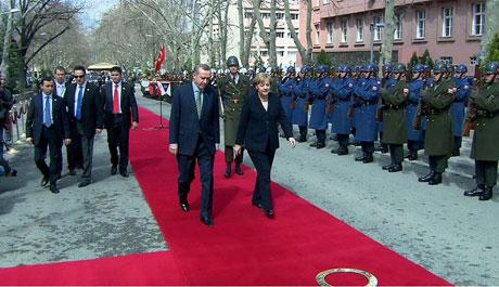 Angela Merkel'in Türkiye ziyareti galerisi resim 2