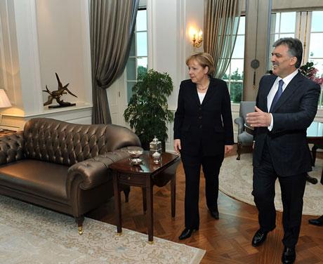 Angela Merkel'in Türkiye ziyareti galerisi resim 20