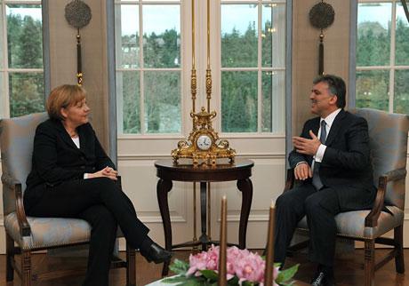 Angela Merkel'in Türkiye ziyareti galerisi resim 21