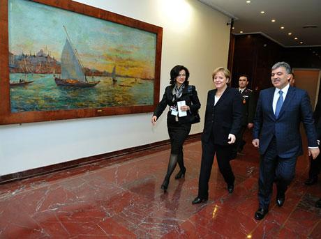 Angela Merkel'in Türkiye ziyareti galerisi resim 22