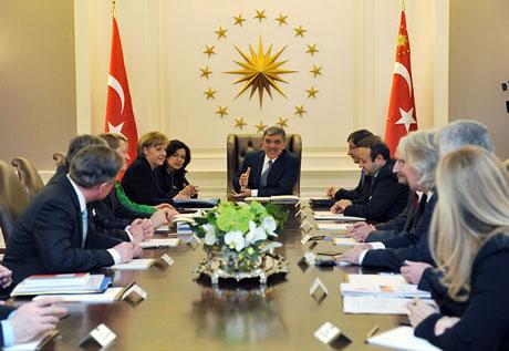 Angela Merkel'in Türkiye ziyareti galerisi resim 24