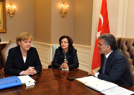 Angela Merkel'in Türkiye ziyareti galerisi resim 25