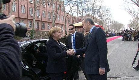 Angela Merkel'in Türkiye ziyareti galerisi resim 4