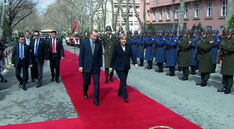 Angela Merkel'in Türkiye ziyareti galerisi resim 9